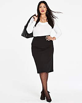 Shape & Sculpt Fishtail Pencil Skirt