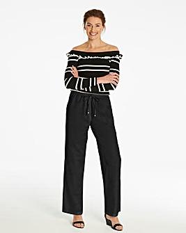 Core Linen Mix Trousers X Short