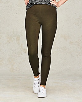 Stretch Jersey Leggings Long