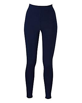 Stretch Jersey Leggings Long