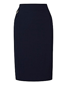 Tailored Smart Pencil Skirt