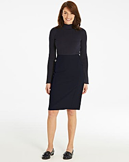 PVL Tailored Smart Pencil Skirt