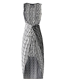 Grace Stripe Twist Dress