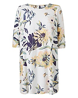 Juna Rose Floral Shift Dress