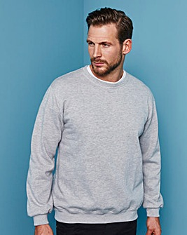 Capsule Grey Crew Neck Sweatshirt L