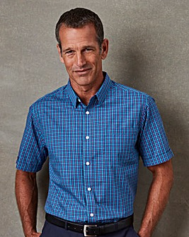 Premier Man Short Sleeve Check Shirt