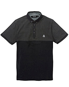 Black Label Spot Panel Polo Long