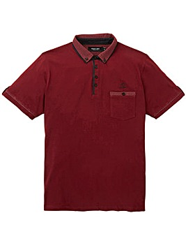 Black Label Spot Trim Polo Long