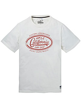 Jacamo Clark Graphic T-Shirt Long