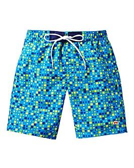 Ellesse Boys Print Swim Shorts Generous