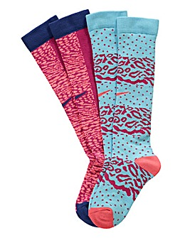 Nike Girls Patterned Socks