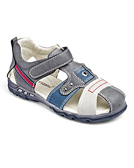 Chatterbox Closed Toe Sandals