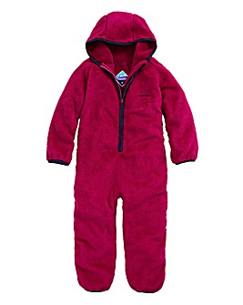 Snowdonia Fleece Girls Onesie