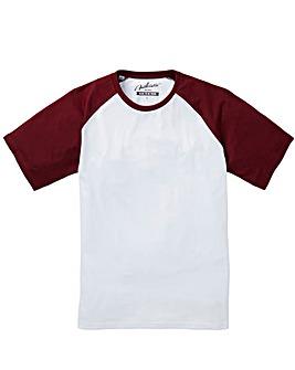 Jacamo Drake Raglan T-Shirt Regular