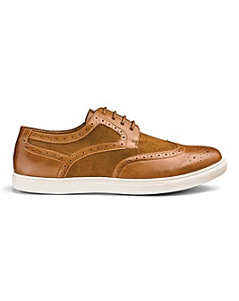 Joe Browns Casual Brogue Pump EW