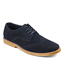 Lace Up Casual Brogue Standard Fit