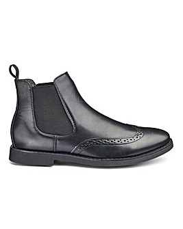 Brogue Chelsea Boot Standard Fit