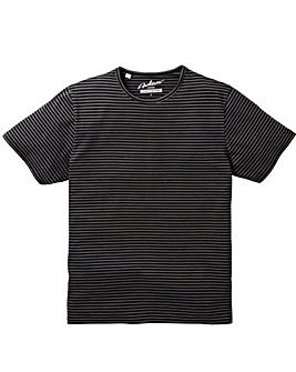 Jacamo Douglas Stripe T-Shirt Long