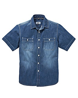 UNION BLUES S/S Cassidy Denim Shirt Reg