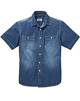 JACAMO S/S Cassidy Denim Shirt Long