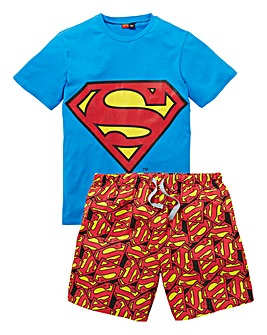 Superman Pyjama Short Set