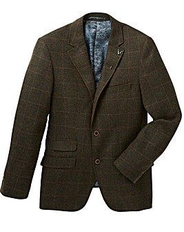 Black Label Checked Tweed Blazer