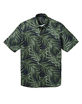 Label J Big Palm Print Shirt Regular