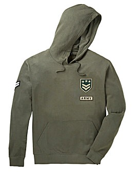 Label J Badges Hoody Long