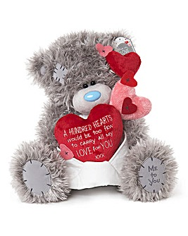 Me to You Hundred Hearts Large Plush