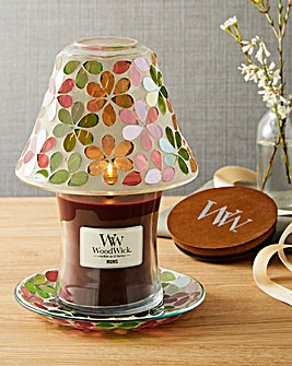 WoodWick Mums Medium Jar & Shade Set