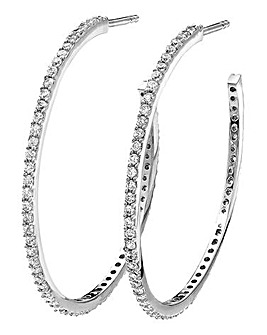 Sterling Silver & Cubic Zirconia Earring