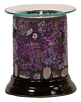 Lilac Lustre Electric Barrel Melt Warmer