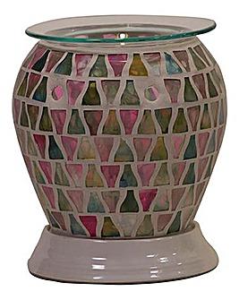 Lilac Lustre Electric Barrel Melt Warmer