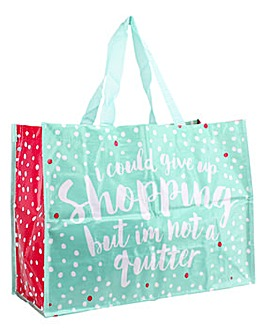 Quitter Shopping Bag