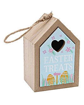 Easter Treats Wooden House