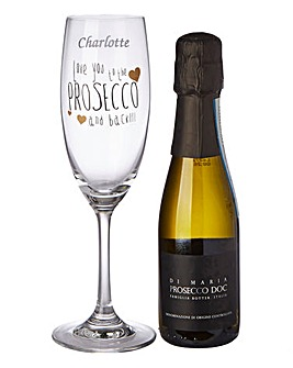 Personalised Love you to the Prosecco Se