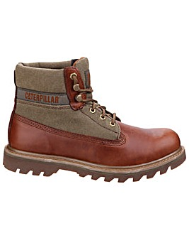 Caterpillar Saga Canvas Leather Boot
