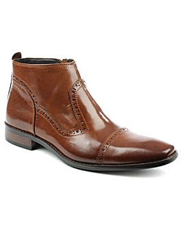 Daniel Hermitage Hole Punch Ankle Boot
