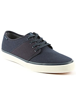 Jack Jones Turbo Canvas Lace Up Trainer