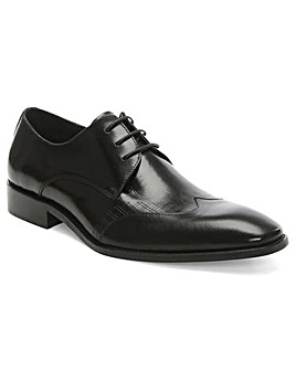 Daniel Denham Laser Line Lace Up Shoe