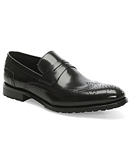 Daniel Sherborne Leather Brogue Loafer