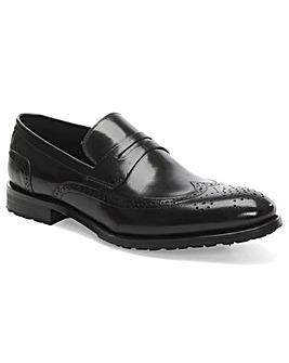 Daniel Sherborne Leather Brogue Loafer