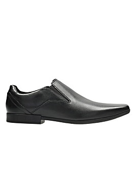 Clarks Glement Slip Shoes G  fitting