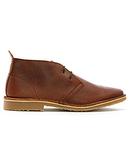 Jack Jones Tumbled Leather Desert Boots