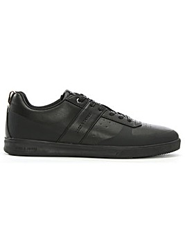 Jack & Jones Leather Lace Up Trainers