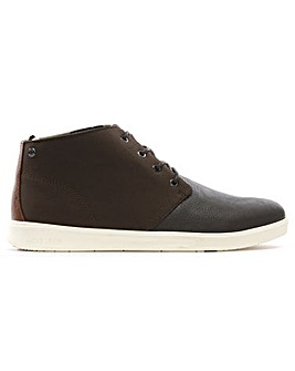 Jack Jones Mixed Upper High Top Trainers