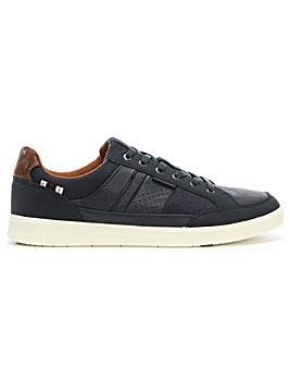 Jack & Jones Leather & Fabric Trainers