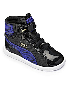 Preschool Puma Girls Animal Mid Trainers