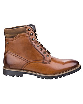 Base London York Washed Biker Boot