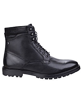 Base London York Waxy Biker Boot